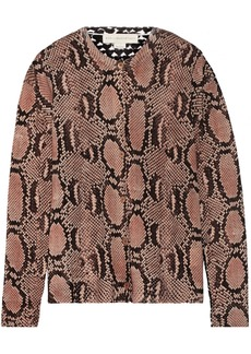 Stella McCartney Paneled wool cardigan