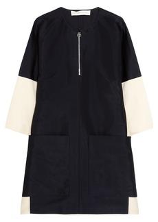 Stella McCartney Pauline oversized faille mini dress