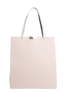 Stella McCartney pink faux leather tall tote