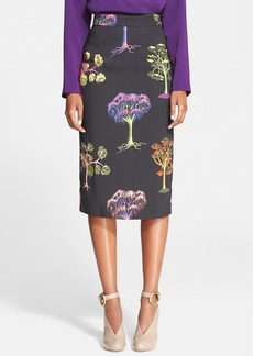 Stella McCartney Print Pencil Skirt
