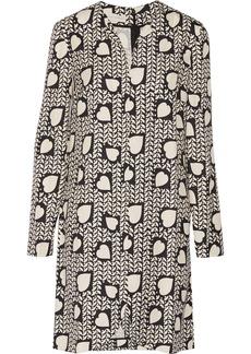 Stella McCartney Printed silk mini dress