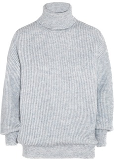 Stella McCartney Ribbed chunky-knit wool-blend sweater