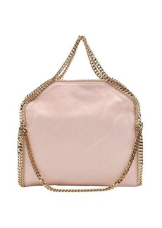 Stella McCartney rose pink canvas 'Falabella' chain link tote