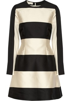 Stella McCartney Rosie satin-twill mini dress