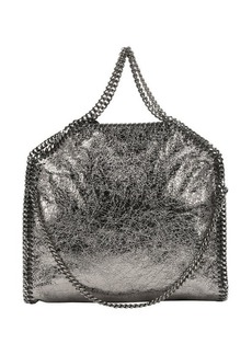 Stella McCartney ruthenium crackled faux leather 'Falabella' convertible tote