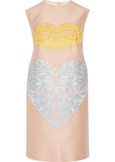 Stella McCartney Sharma embroidered cady mini dress