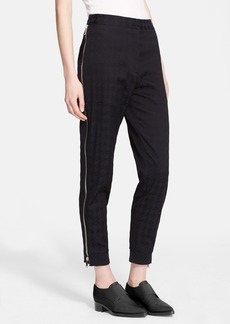 Stella McCartney Side Zip Houndstooth Ankle Pants