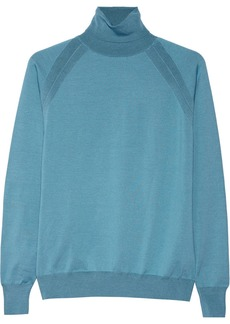 Stella McCartney Silk-blend turtleneck sweater