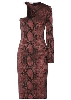 Stella McCartney Snake-jacquard dress