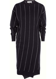 Stella McCartney Striped wool sweater dress