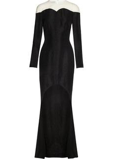 Stella McCartney Sunny python-jacquard dress