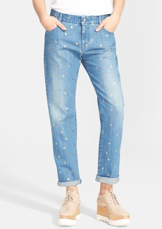 Stella McCartney 'Tomboy' Polka Dot Boyfriend Jeans
