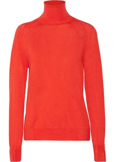 Stella McCartney Wool and silk-blend turtleneck sweater