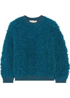 Stella McCartney Wool-trimmed acrylic-blend sweater
