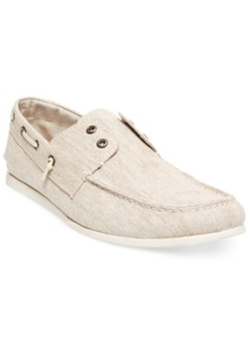 Laceless Boat Shoes Mens