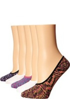 Steve Madden 5-Pack Space Dye Footie