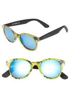 Steve Madden 50mm Printed Frame Sunglasses