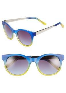 Steve Madden 50mm Retro Sunglasses