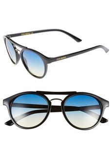 Steve Madden 50mm Round Retro Sunglasses