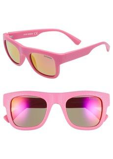 Steve Madden 51mm Stippled Frame Sunglasses