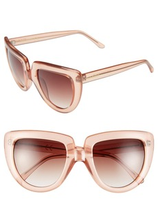 Steve Madden 52mm Cat Eye Sunglasses