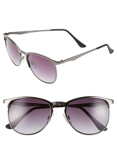 Steve Madden 52mm Retro Sunglasses