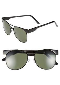 Steve Madden 54mm Aviator Sunglasses