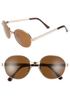 Steve Madden 56mm Round Sunglasses