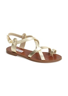 Steve Madden 'Agathist' Leather Ankle Strap Sandal (Women)