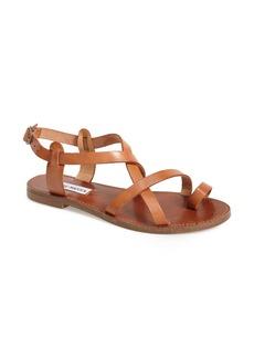 Steve Madden 'Agathist' Leather Ankle Strap Sandal (Women)