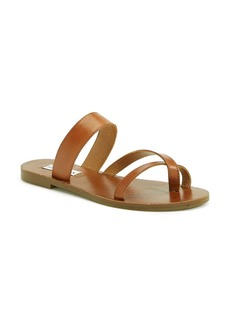 Steve Madden 'Aintso' Strappy Leather Toe Ring Sandal (Women)