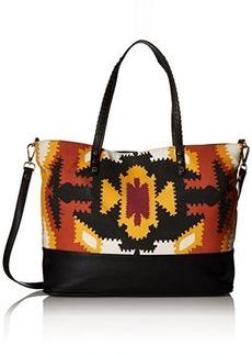 Steve Madden Balonzo Tote Bag, Orange/Multi, One Size