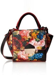 Steve Madden Bbello Mini Crossbody Bag, Black Floral, One Size