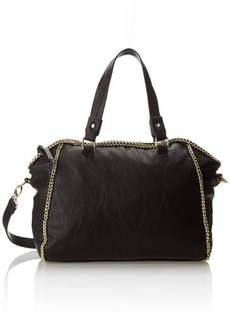 Steve Madden Bcheney Satchel,Black,One Size