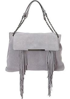 Steve Madden Bcochel Fringe Satchel Bag, Grey, One Size