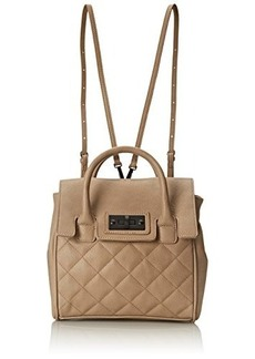Steve Madden Bdeeva Convertible Fashion Backpack, Taupe, One Size
