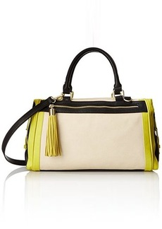 Steve Madden Bdollee Satchel, Citron, One Size