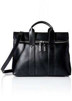Steve Madden Bfoldovr Satchel Bag, Black, One Size