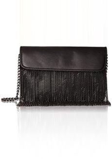 Steve Madden Blite Chain Fringe Crossbody Bag, Black, One Size