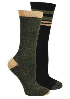 Steve Madden Boot Socks - 2-Pack, Crew (For Women)
