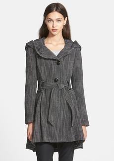 Steve Madden Bouclé Fit & Flare Coat