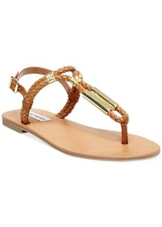 Steve Madden Braidie Flat Thong Sandals Women's Shoes