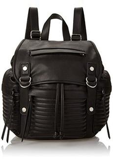 Steve Madden Broller Mini Fashion Backpack, Black, One Size
