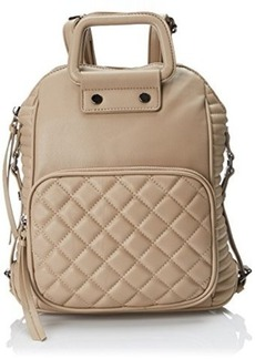 Steve Madden Bschoold Convertible Fashion Backpack, Taupe, One Size