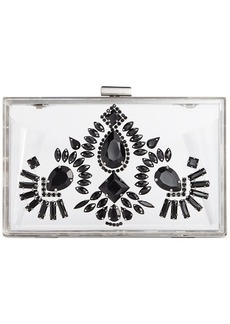 Steve Madden Bsquaree Clear Clutch