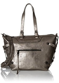 Steve Madden Bstrippy Fashion Backpack, Pewter, One Size