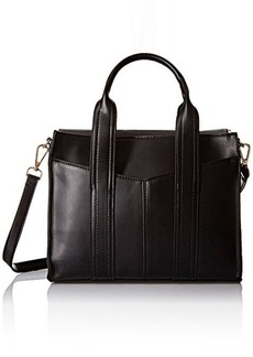 Steve Madden Bstructr Satchel Bag, Black/Multi, One Size