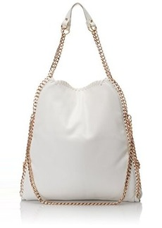 Steve Madden Btotally Hobo Shoulder Bag, White, One Size