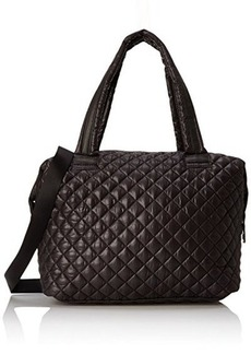 Steve Madden Bvoyagee Dome Weekender Bag, Black, One Size