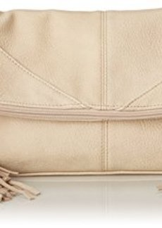 Steve Madden Bwestie Clutch, Cream, One Size